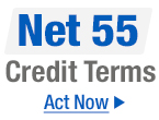 Net 55 Credit Terms