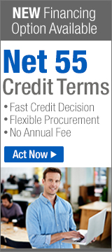 New Payment Option: Net 55 Credit Terms