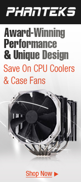 Phanteks Case Fans & CPU Coolers