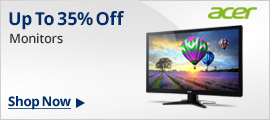 Up to 35% off monitors