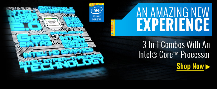 Intel® Core™ Processor 3-In-1 Combos