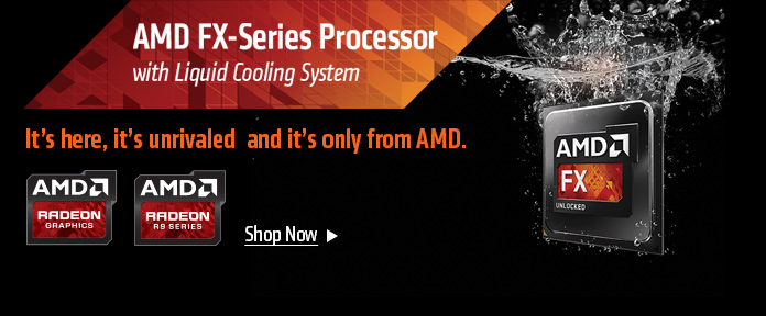 AMD FX-Series Process with Liquid Cooling System