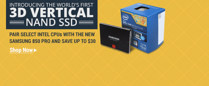 The World's First 3D Vertical NAND SSD
