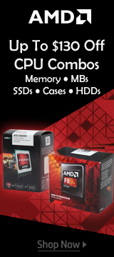 AMD CPU Combos Up To $130 Off