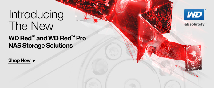 WD Red™ & WD Red™ Pro NAS Storage Solutions -