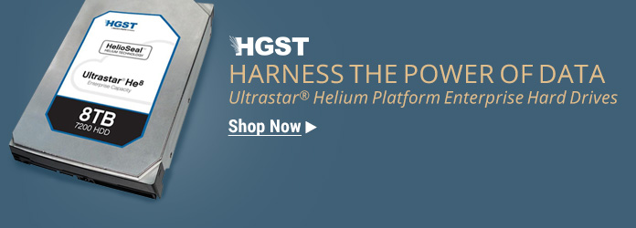 HGST Ultrastar Helium Platform 6 TB and 8 TB Enterprise Hard Drives