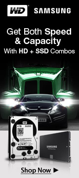WD HD + Samsung SSD Combos
