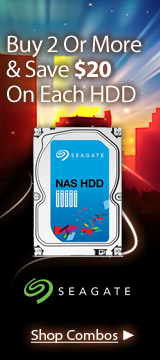 Seagate NAS HDD Combos