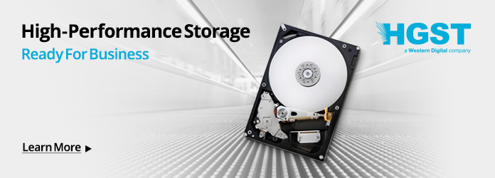 HGST Data Storage Microsite