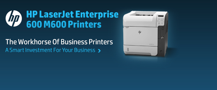 HP Enterprise 600 Series Printers