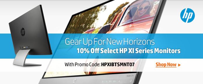 HP XI Series Monitors 10% OFF
