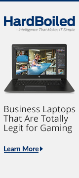 HardBoiled Blog: Business Laptops for Gaming
