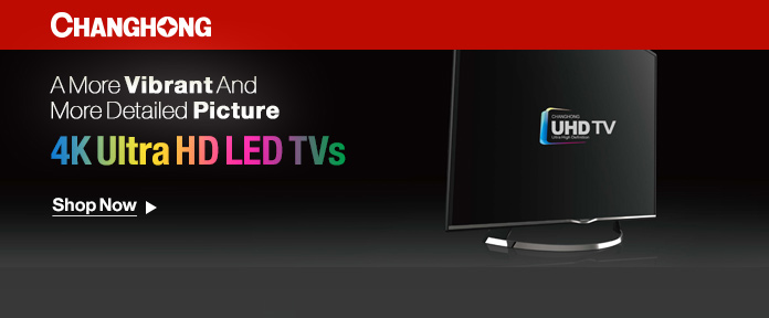 4K Ultra HD LED TVs