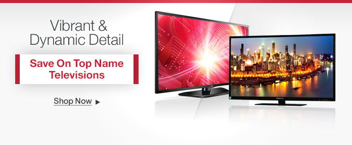 Save on Top Name Televisions
