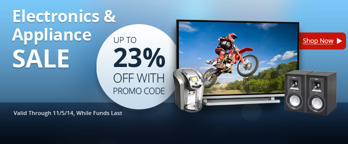 Up to 23% off with Promo Code