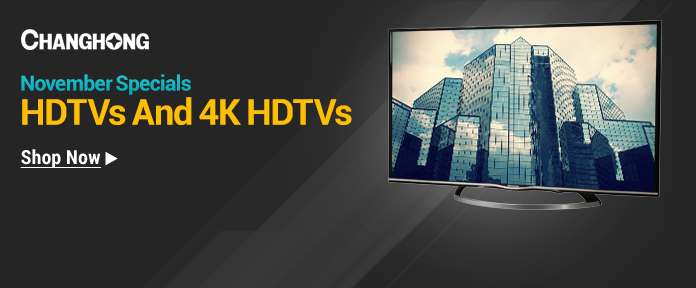 November Specials HDTVs And 4K HDTVs