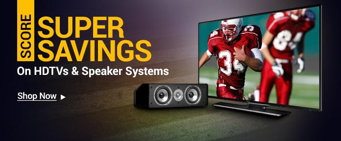 HDTV & Speakers Sale