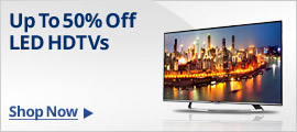 TVs Up To 50% Off