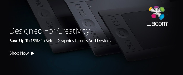 Save Up To 15% On Select Graphics Tablets And Devices