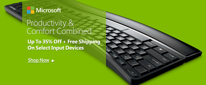 Up to 35% off + Free shipping on select Input Devices