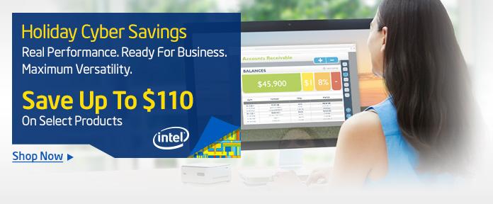Intel® Holiday Savings