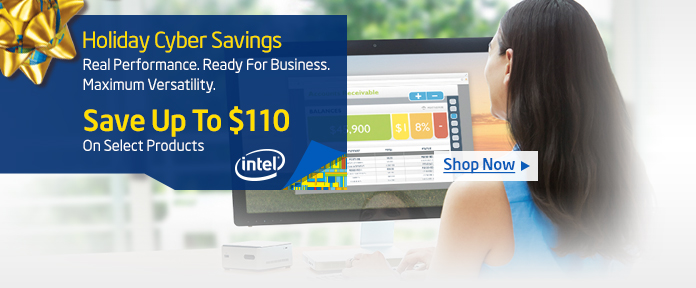 Intel Holiday Savings