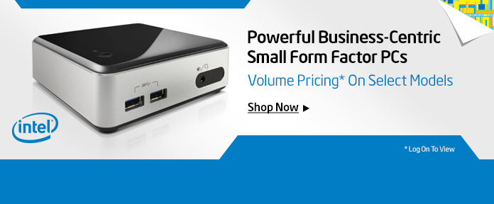 Volume pricing on small form factor PCs
