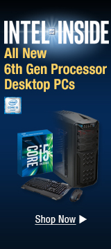 All New Intel 6th Gen Processor Desktop PCs