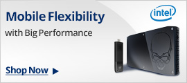 Mobile flexibility with big performance