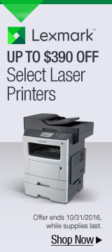 Up to $390 off select laser printers