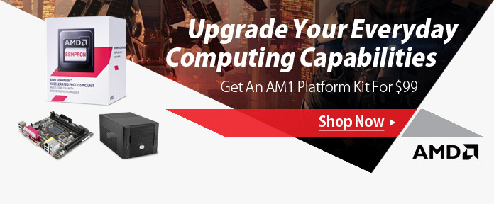AMD AM1 Platform Kit For $99
