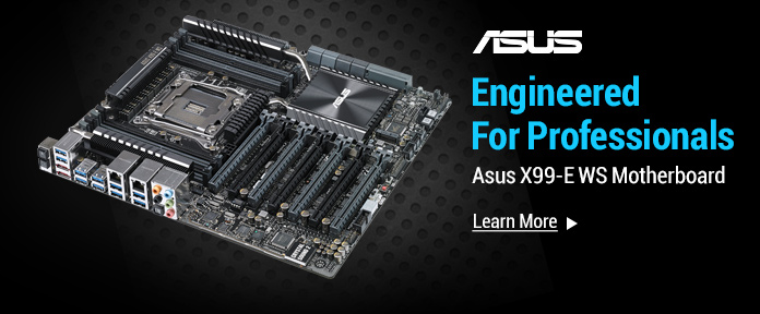 ASUS X99-E WS Motherboards