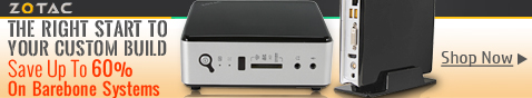 SAVE UP TO 60% ON BAREBONE SYSTEMS