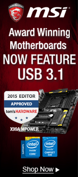 MSI USB 3.1 Motherboards