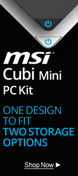 MSI Cubi Mini PC Kit