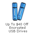 Up to $40 off encrypted USB drives