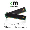 Up to 25% off stealth memory