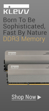 Born To Be Sophisticated, Fast By Nature DDR3 Memory