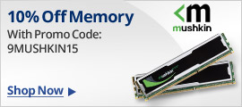 10% off Memory with Promo Code