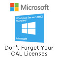 Microsoft Server 2012 + CALs