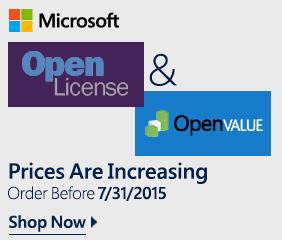 Microsoft CAL Licenses: Order Before 7/31/2015