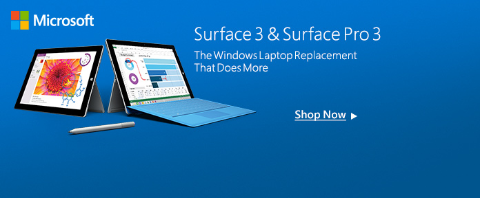 Surface 3&Surface Pro 3