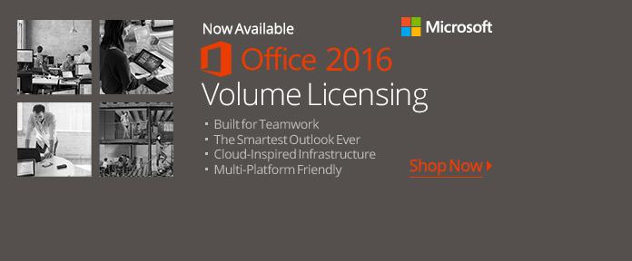 Office 2016 Volume Licensing