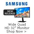 Wide Quad HD 32' Monitor