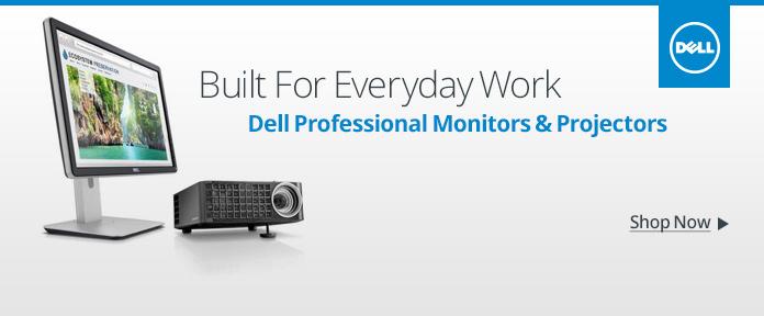 Dell Professional Monitors & Projectors