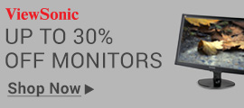 Up to 30% off Monitors