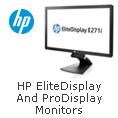 HP Elite Display and Pro Display Monitors