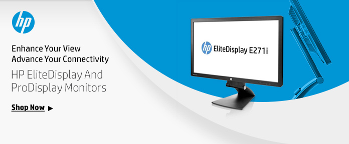 HP Elite Display and Pro Display Monitors