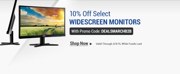 Widescreen Monitors 10%