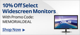 Monitors 10% Off With Promo Code